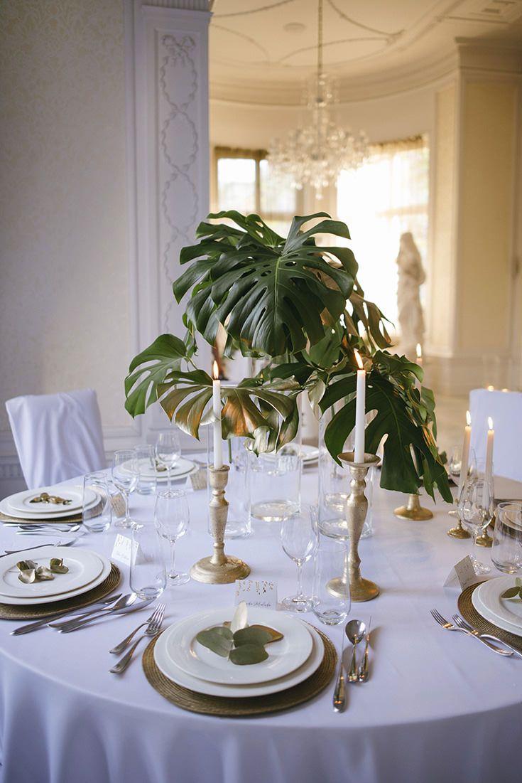 Sweet Wedding Wesele W Stylu Glamour Greenery Sweet Wedding Greenery Wedding Wedding Forest Decor