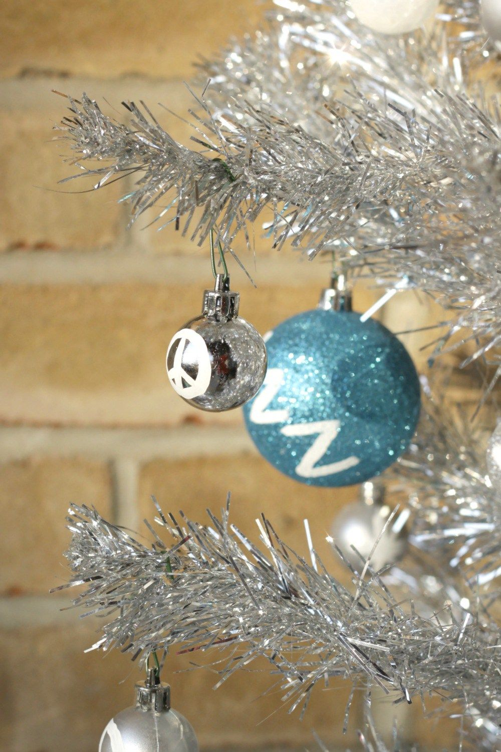 Peace Sign Ornament Christmas Pinterest Moon Phases And