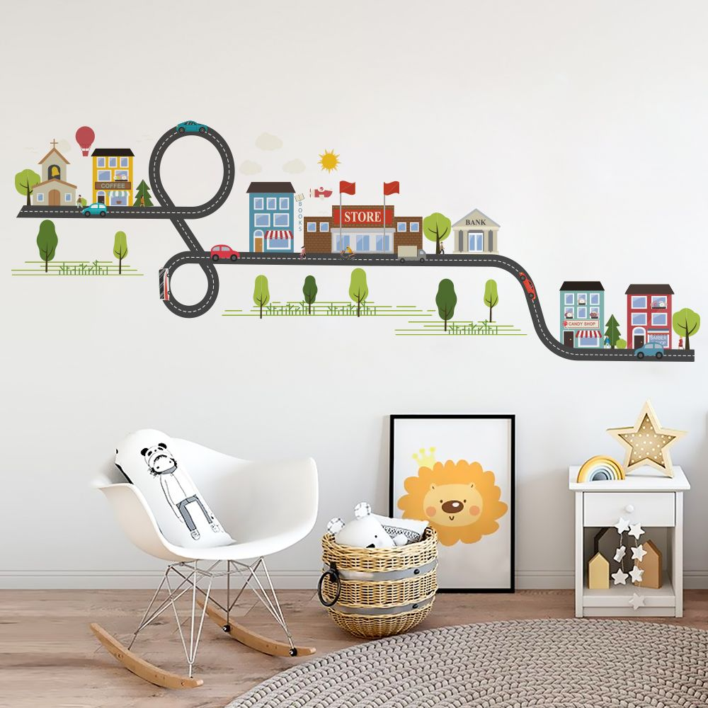 2019 的 Bedroom Wall stickers for kids room stickers House ...