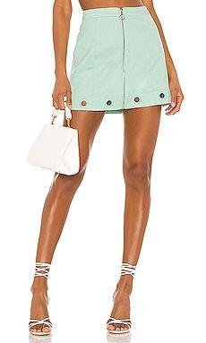 New Creme Puff Mini Skirt For Love & Lemons online #cremepuff