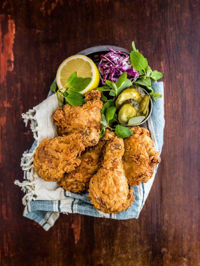 Maple Buttermilk Fried Chicken Buttermilk Fried Chicken Fried Chicken Recipes Recipes