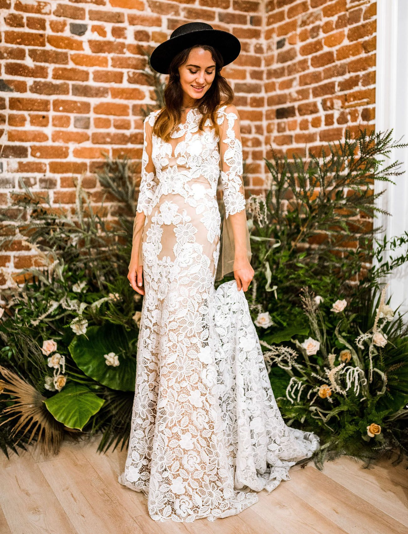 Simple wedding dresses for eloping  Lovers Society X Green Wedding Shoes Wedding Dress Collection Launch