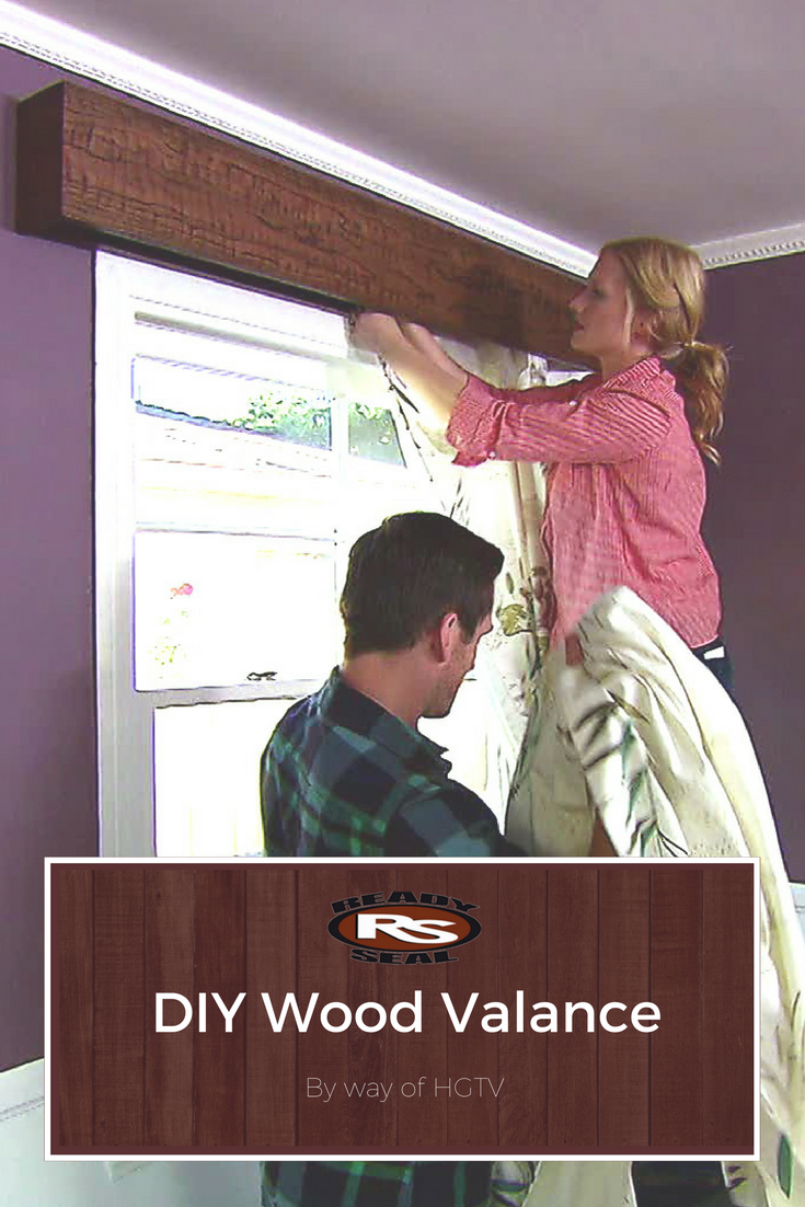 How to Build a Wooden Window Valance   Wooden window valance ...