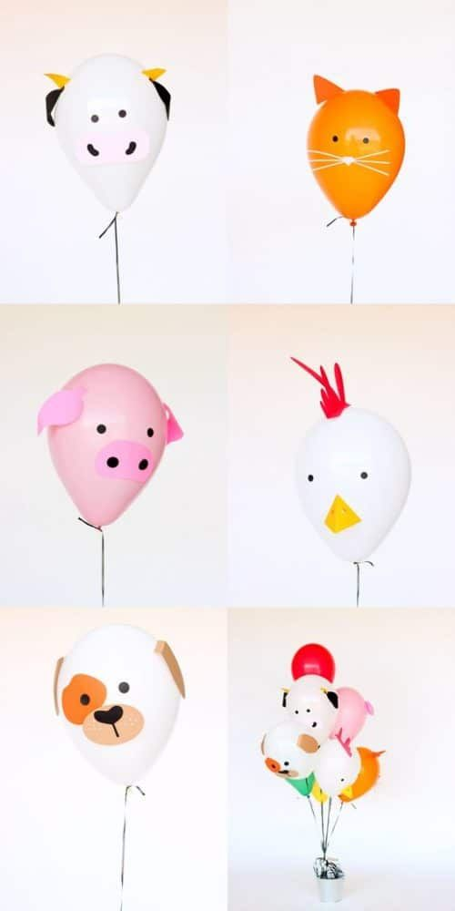 45 Awesome DIY Balloon Decor Ideas - Pretty My Party - Party Ideas