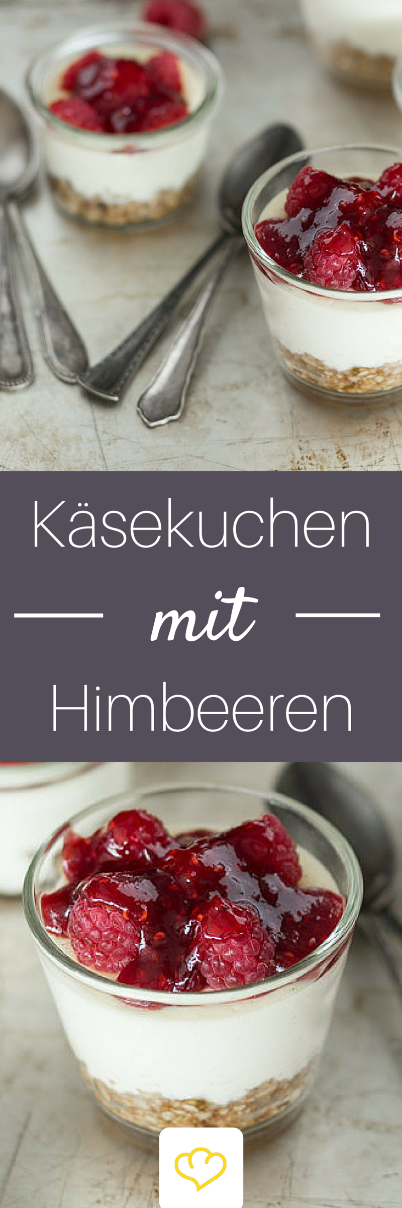 himbeer k sekuchen im glas rezept kuchen pinterest kuchen k sekuchen und dessert. Black Bedroom Furniture Sets. Home Design Ideas
