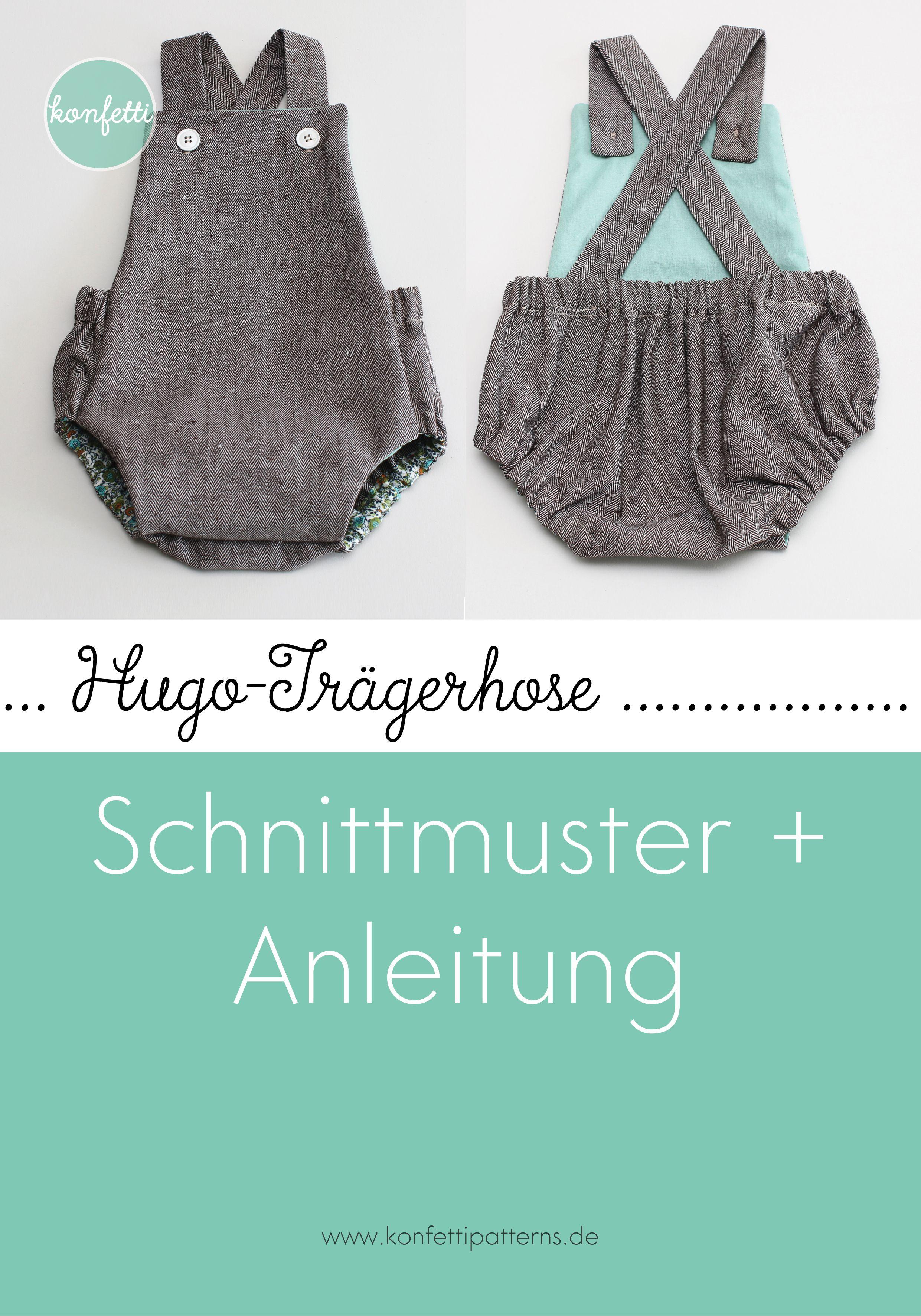 Photo of Schnittmuster Baby-Strampler