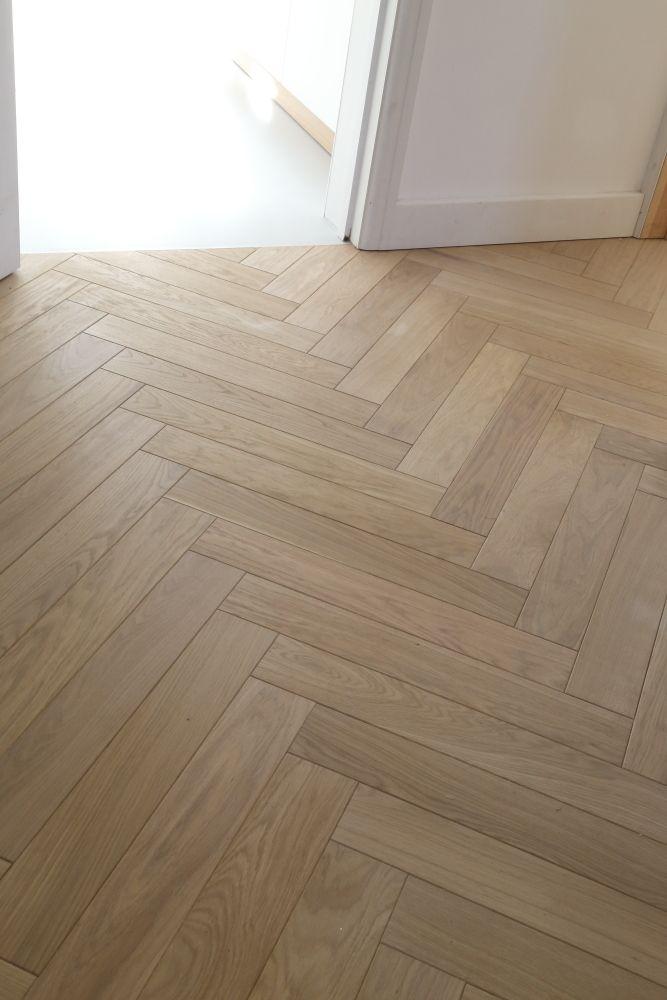 Natural Raw Herringbone Parquet Hicraft Wooden Flooring Ltd