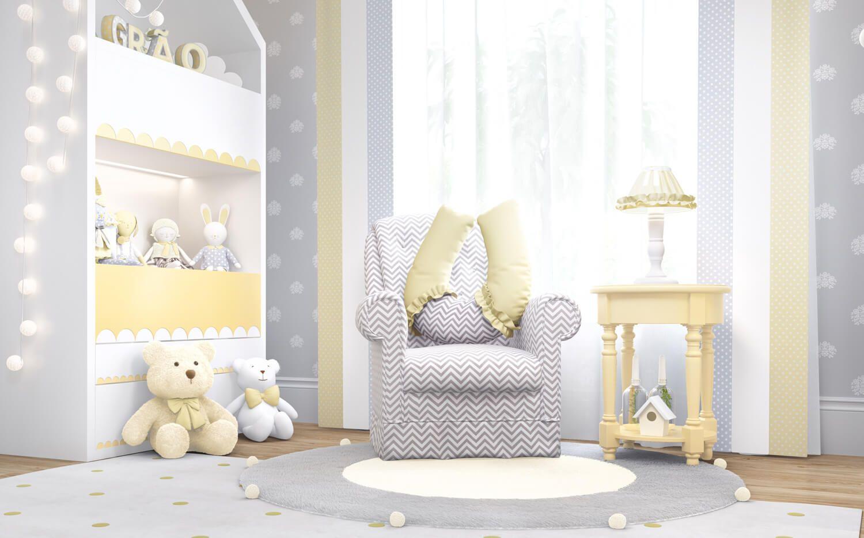 O Quarto De Beb Montessoriano Amiguinhos Amarelo Vem Com Lindos  ~ Quarto Montessoriano Projeto E Quarto De Menino Amarelo