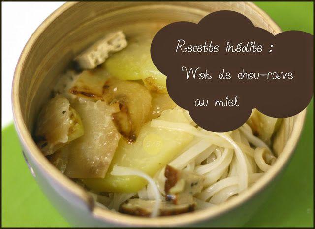 Wok de chou-rave au miel | cuisine | Chou rave, Wok et Choux