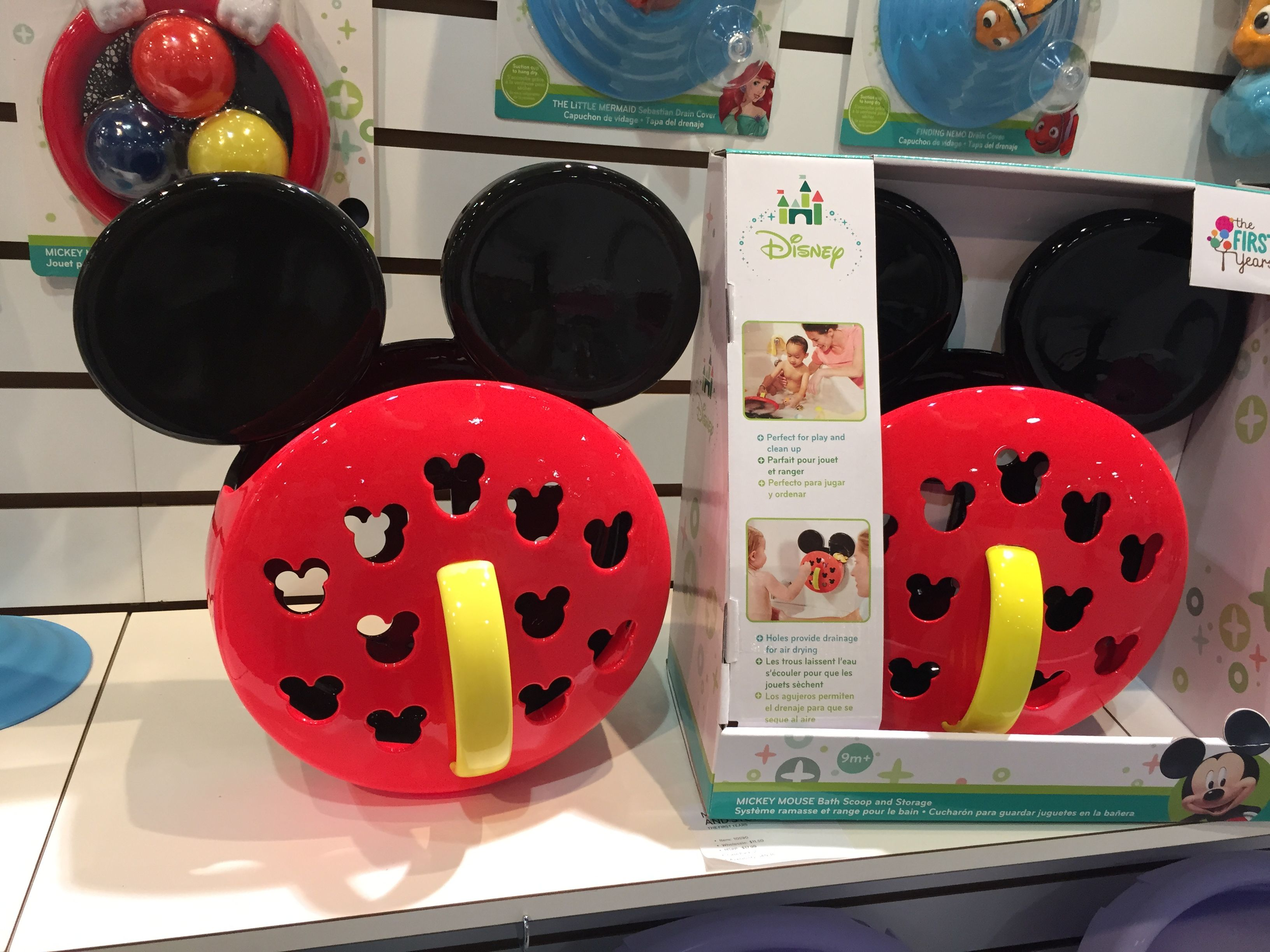 The First Years Mickey Mouse Tub | Mickey mouse, Tubs and Mice