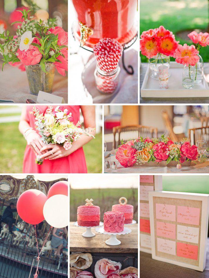 Seasonal Color Trends 2015 Watermelon wedding, Spring