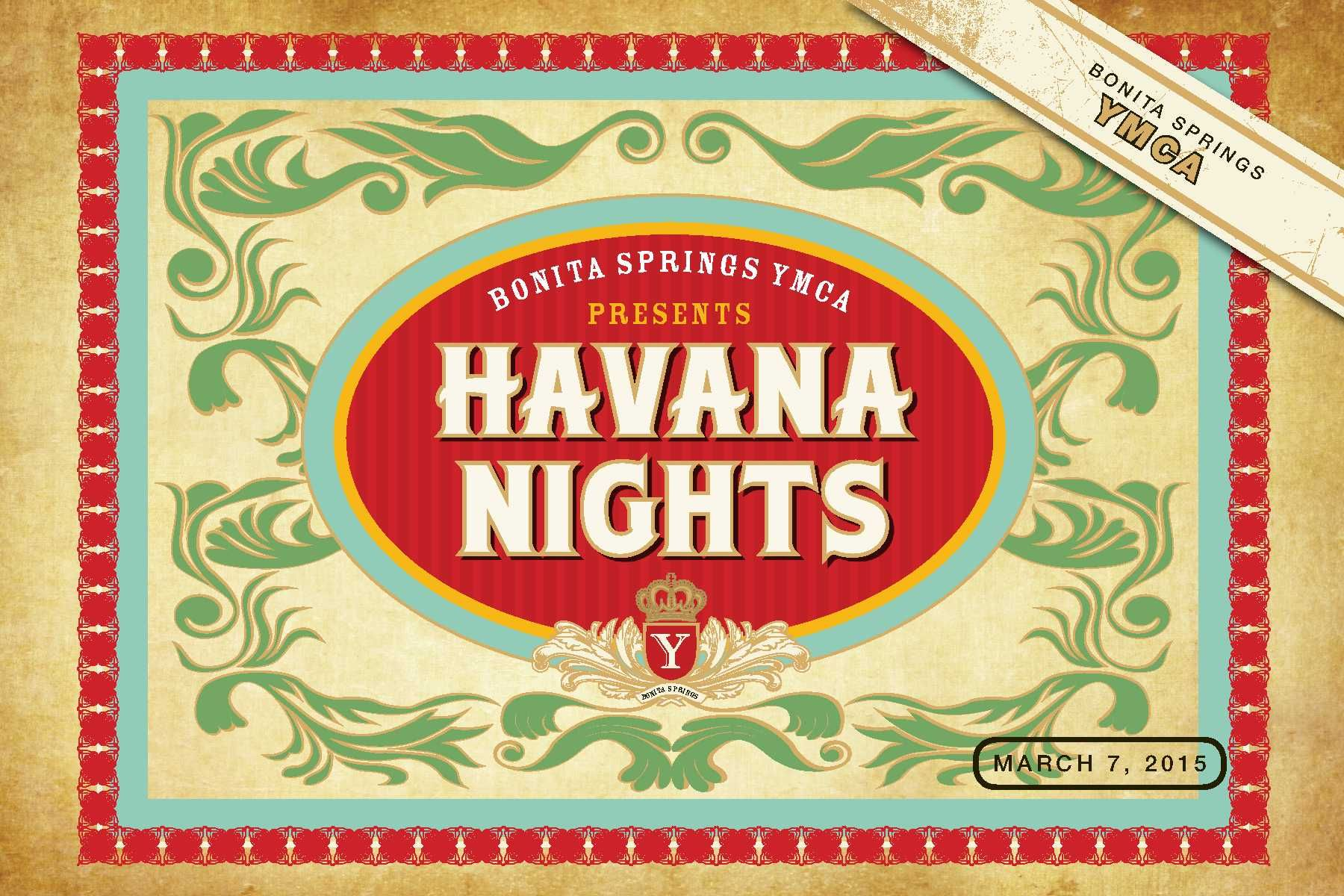 Havana Nights At The Bonita Ymca The Sky Family Ymca Fort Myers Englewood Cape Coral Bonita Springs And Venice Havana Nights Havana Nights Theme Havana
