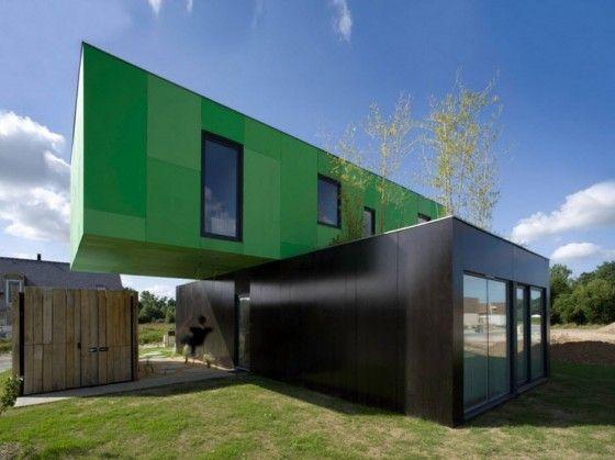 Dise o de casas con contenedores construcci n dise os for Diseno de oficinas con contenedores