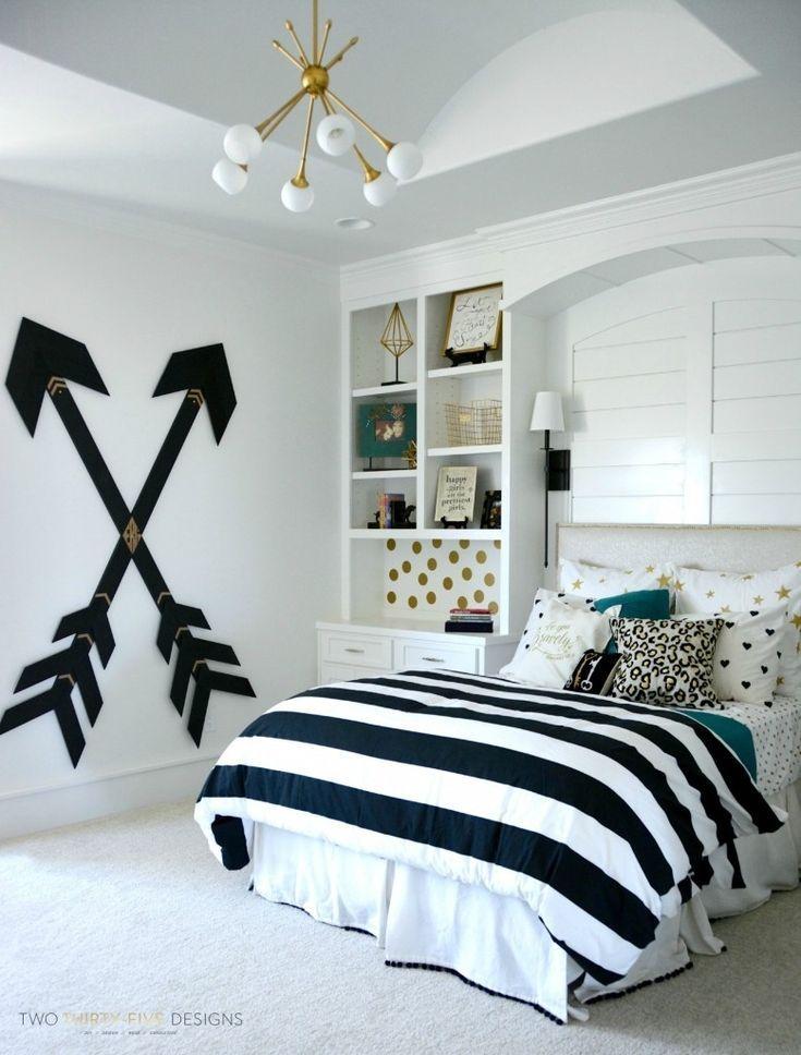 Blue Tomboy Bedroom