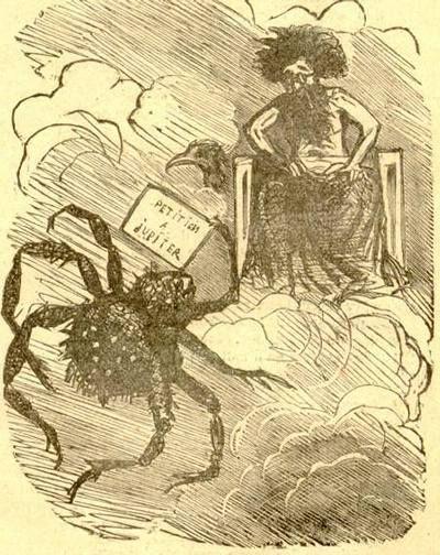 l'araignée et l'hirondelle