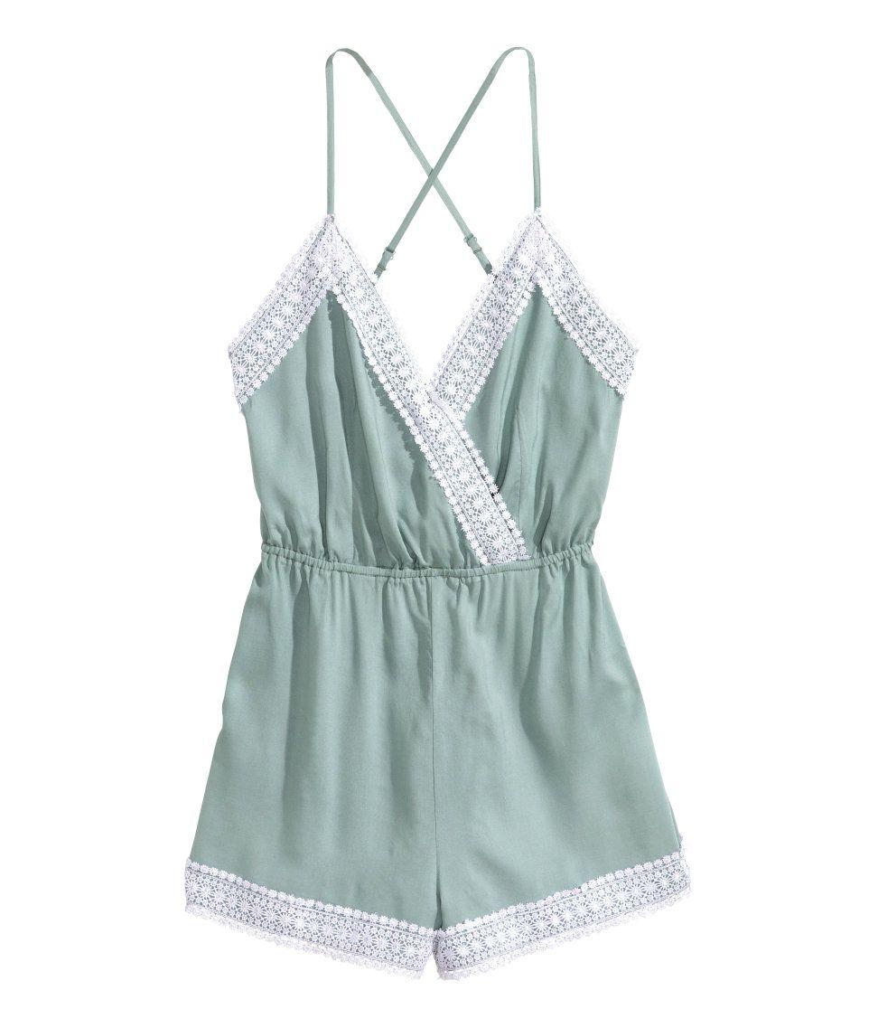 H&m blue lace dress  Jumpsuit with Lace  HuM Divided  Lookbook  Pinterest  Clothes