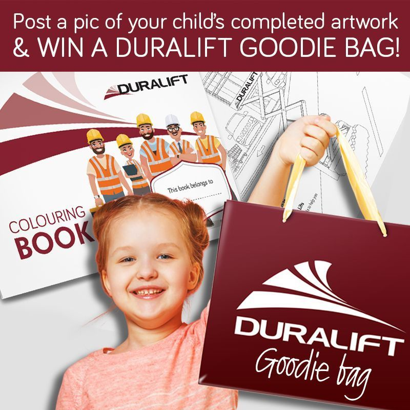 1 Download The Duralift Colouring Book Here Https 901i8ex8 Pages Infusionsoft Net 2 Post A Pic Of Your Child S Complet In 2020 Goodie Bags Coloring Books Children