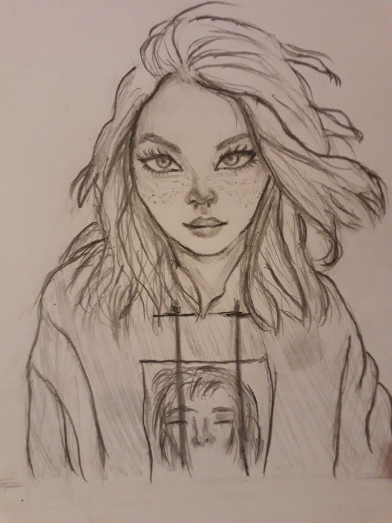 Pin By Italia On Personajes Face Drawing Person Drawing Cool Art Drawings