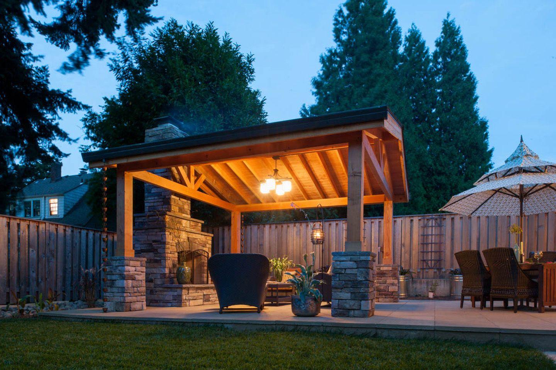 Simple Outdoor Fireplace Design - Paradise Restored ... on Simple Outdoor Fireplace Ideas id=59624