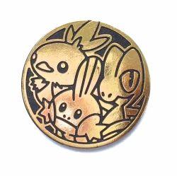 mince Treecko-Torchic-Mudkip (zlato-černá)