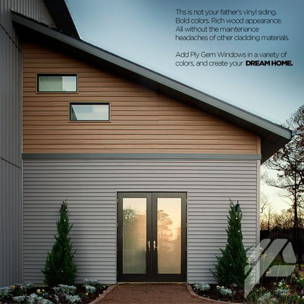 Low Maintenance Exterior House Material : Image result for no maintenance siding mid century