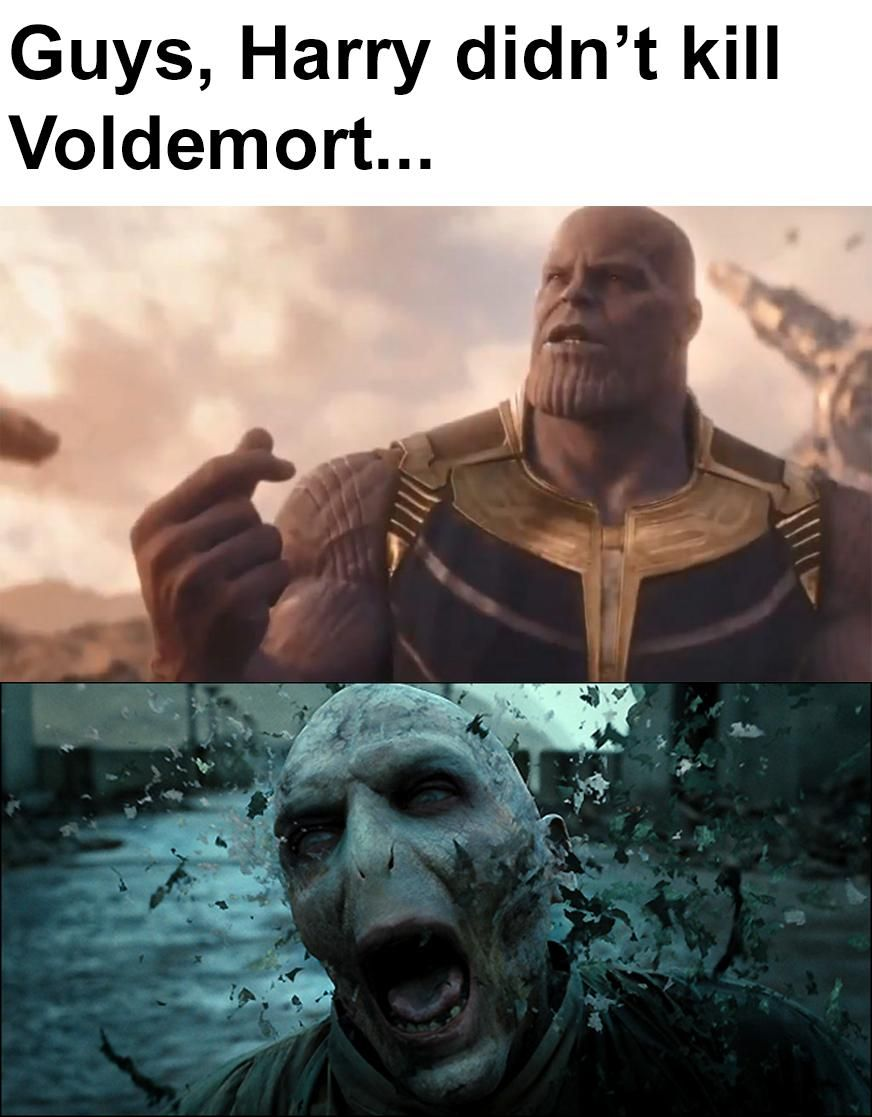 The wizarding world made it into Marvel