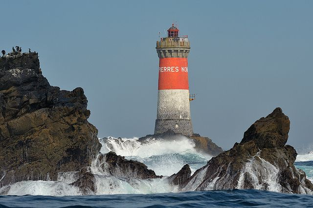 Lighthouses of Iroise. Phare des Pierres Noires. By Brestitude - Brittany