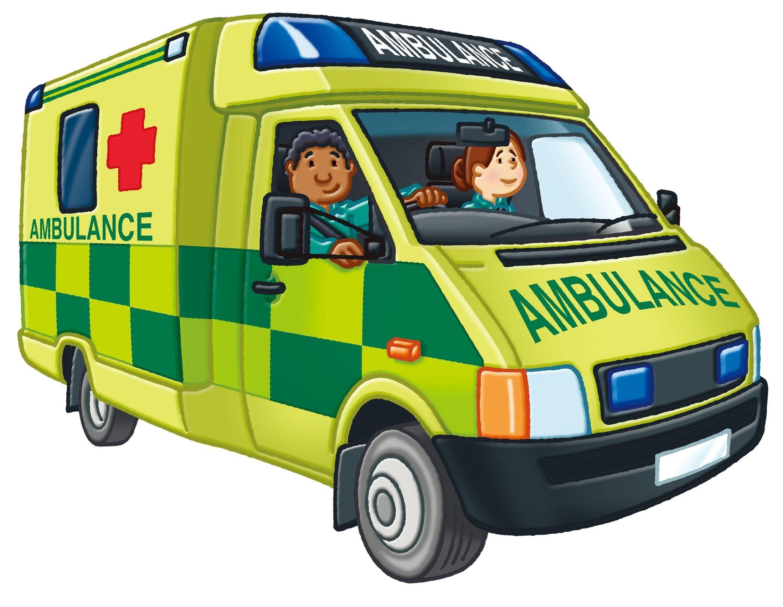 British ambulance in 2020