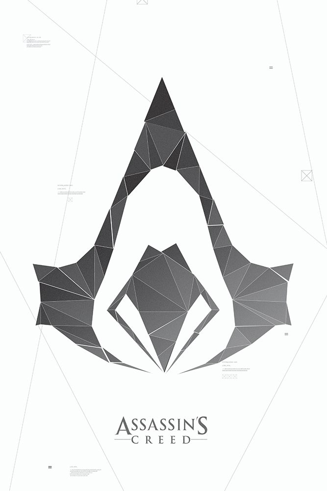 Assassins Creed Symbol Poster By Acturuliantart On