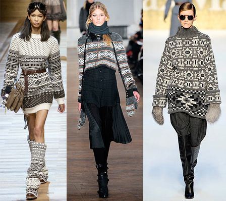 Trend Alert: Fair Isle Sweaters Are Everywhere | Fair isles, Fair ...