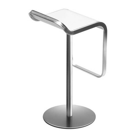 Order now online: Lem, the classic bar stool for fair, bar, counter, office or lounge. Frame chrome, other finishes available. Original Lapalma.