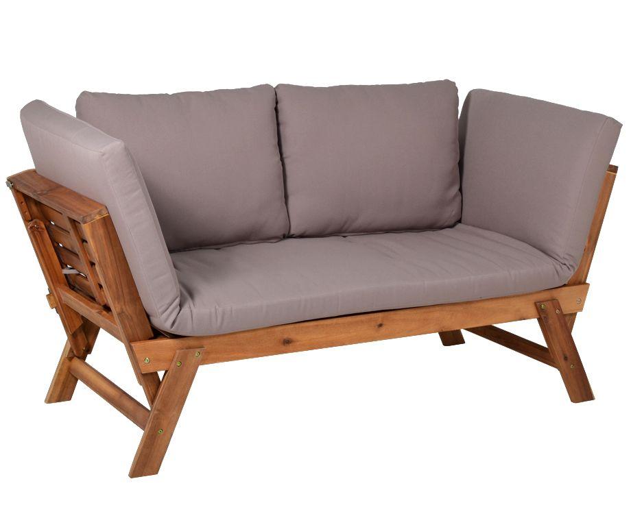 gartenbank daybed liege lorient gartenliegen. Black Bedroom Furniture Sets. Home Design Ideas