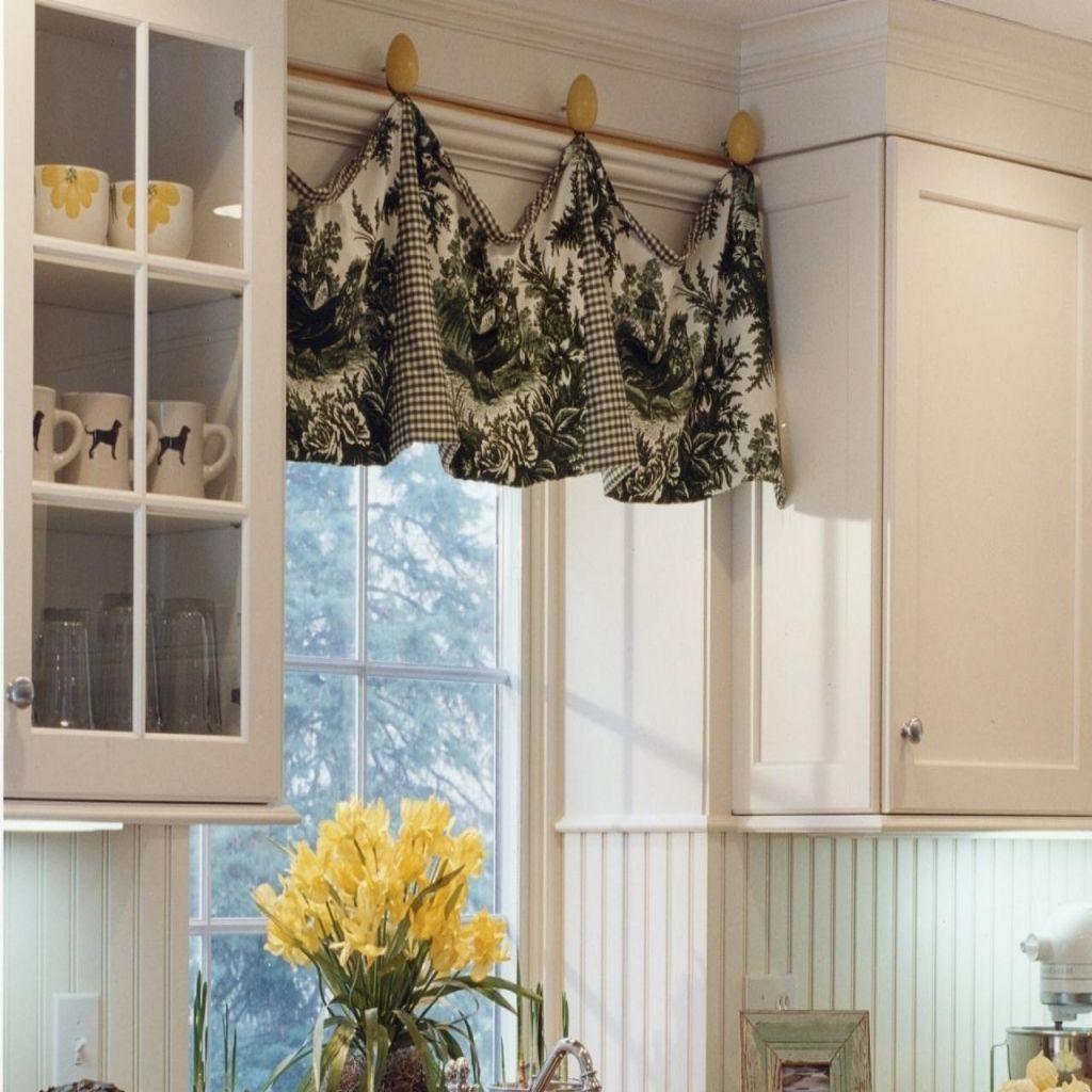 Kitchen Curtains Window Treatments Diy Kitchen Window