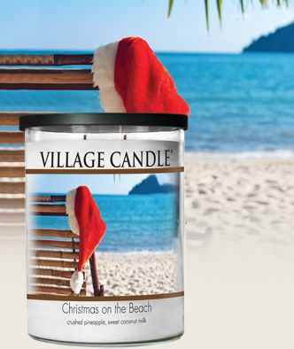 Christmas on the Beach Scented Candles | Village Candle