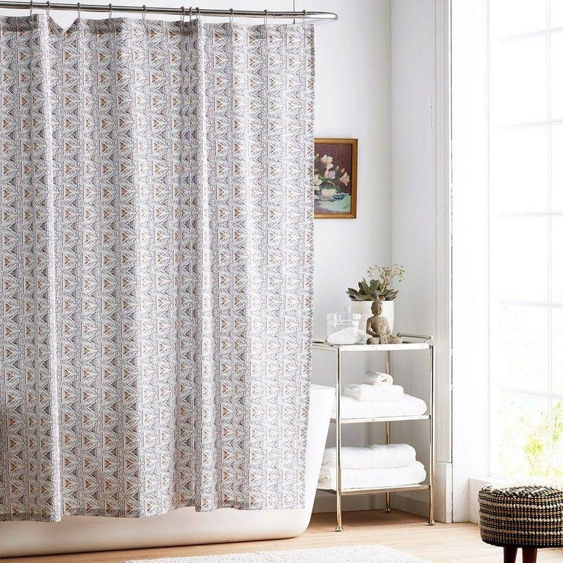 Cstudio Home Zahra Organic Cotton Shower Curtain The Company