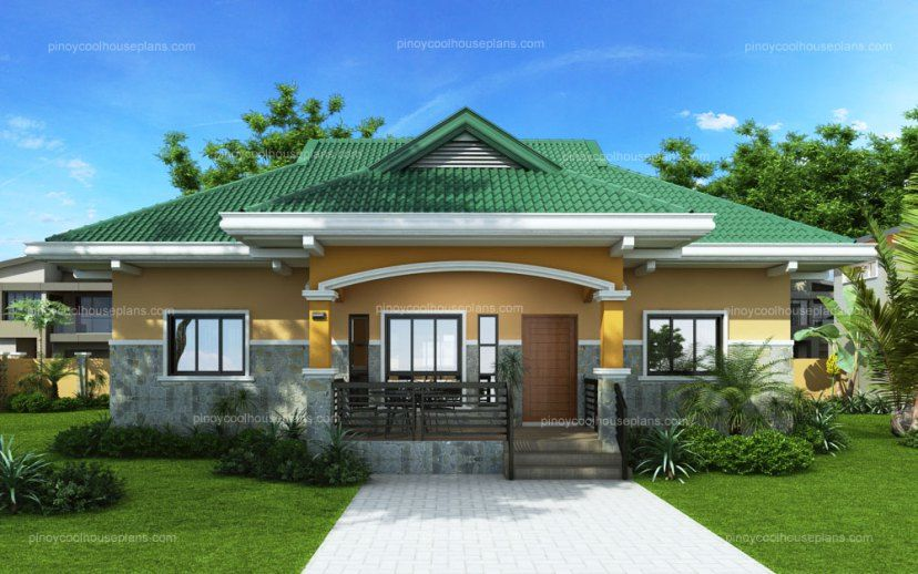 De Leon Is 3 Bedroom Bungalow House Plan That Elevated To At Least 4