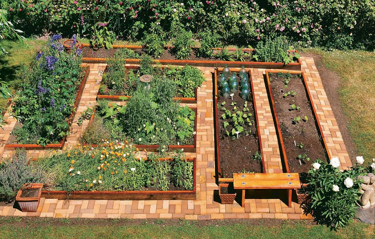 Raised Garden Bed Ideas On Raised Bed Garden Design Unique
