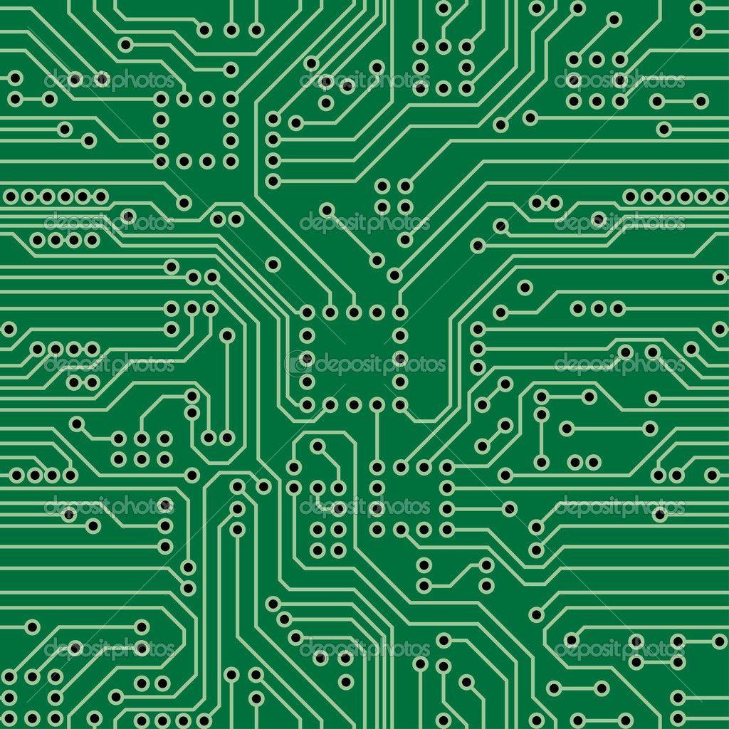 circuit board stock vector vankad 12113709 [ 1024 x 1024 Pixel ]