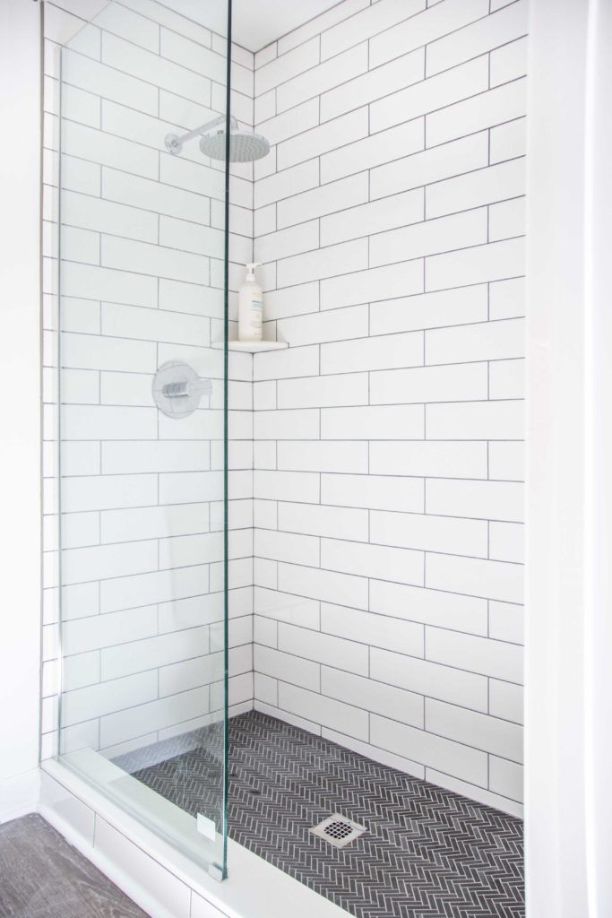 Dove Hill Master Bathroom Shower Reveal - Thou Swell