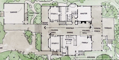 Dog Trot Floor Plan Dog Trot House Dog Trot House Plans Southern House Plans
