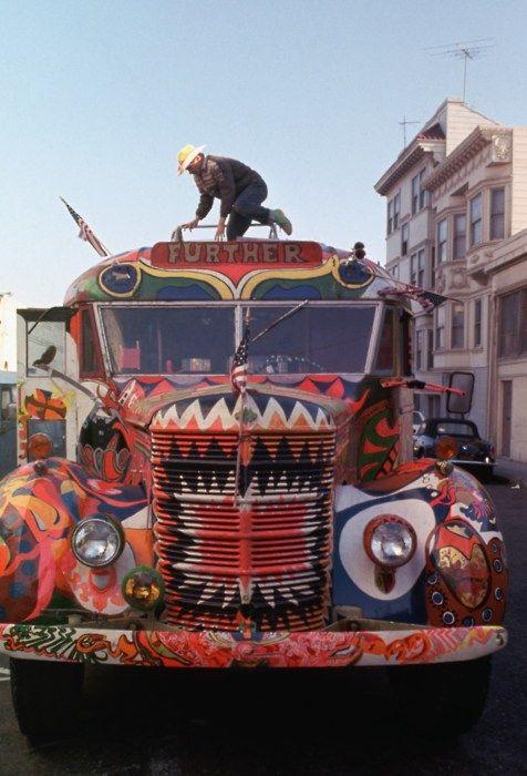 Ken Kesey's Magic Trip Bus