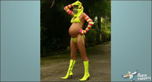 Pregnant Bikini Shoot