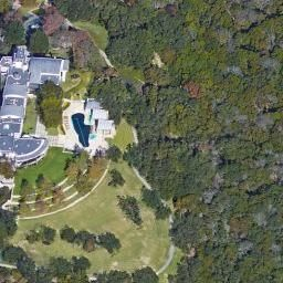 Michael Dells House Sightseeing With Google Satellite Maps - Satellite maps house