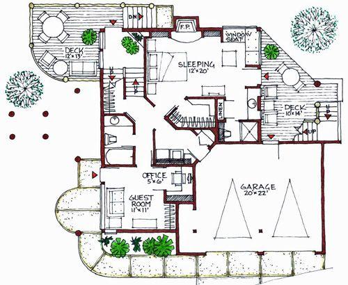 Modern Building Plans House House Plans Energy Efficient Construction