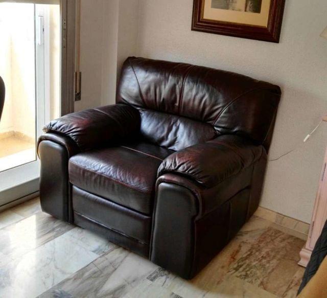 Mil anuncios com piel sillas sof s sillones piel en - Sillones malaga ...