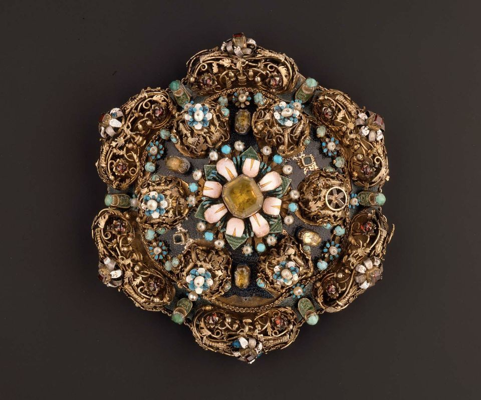 Hungarian-Transylvanian Brooch, late 16th century