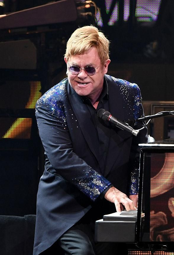 Elton John returns to The Colosseum at Caesars Palace in Las Vegas (Photo credit: Denise Truscello / WireImage).