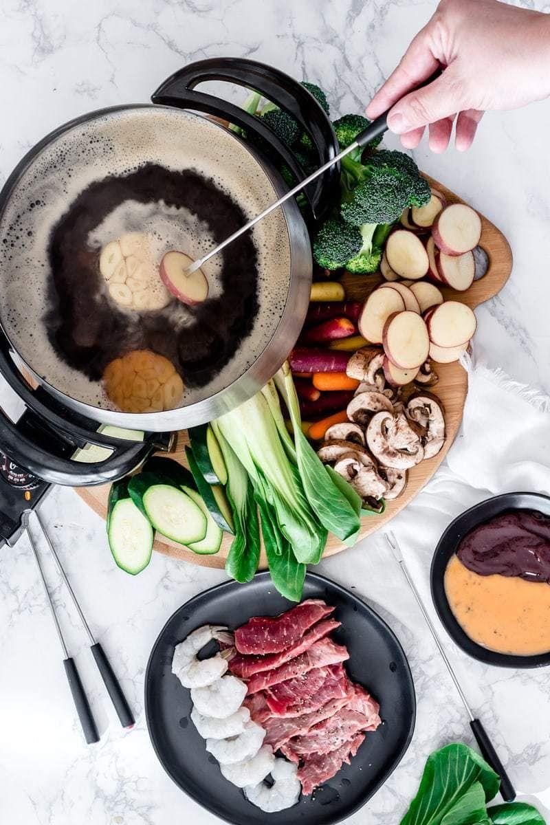 Broth Fondue Oh So Delicioso Recipe Fondue Dinner Fondue Recipes Fondue Recipes Meat