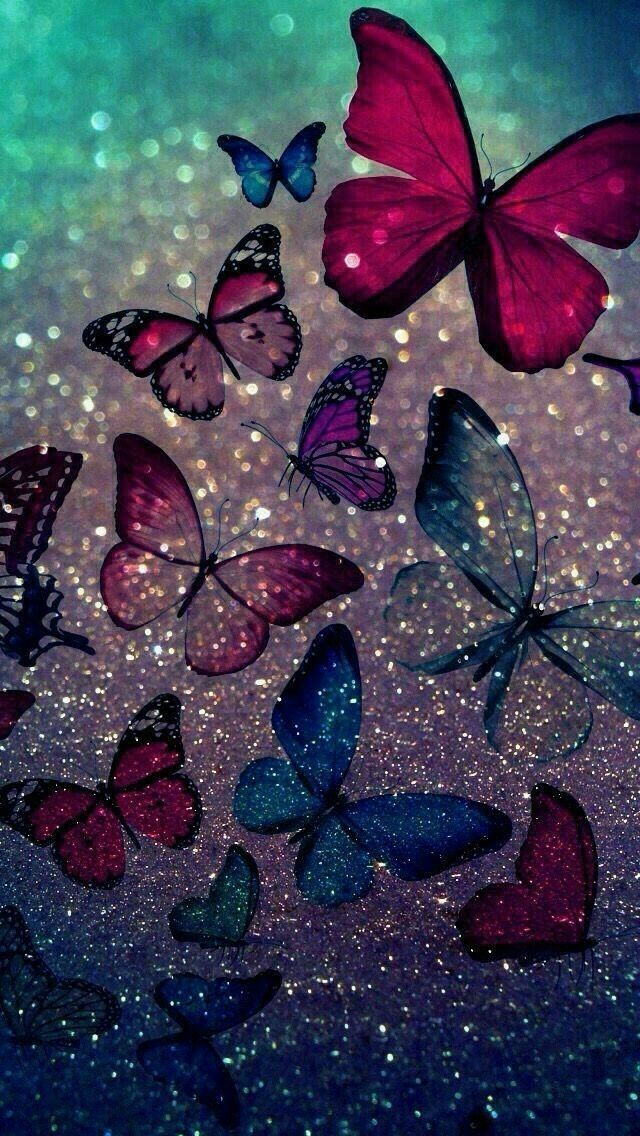 Lindaaaaa Lindaaaaa Artofit Butterfly Wallpaper Glitter Wallpaper Cellphone Wallpaper