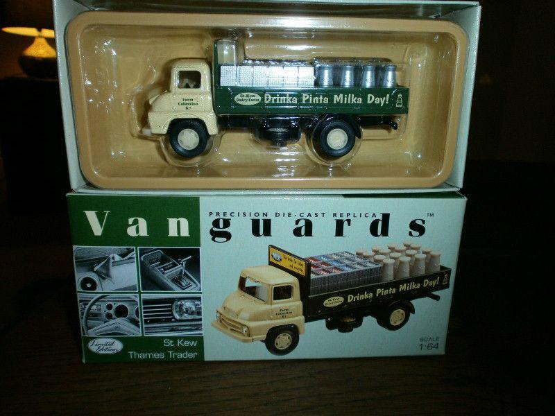 Lledo Vanguards Thames Trader Dropside St Kew Diecast lorry model ...